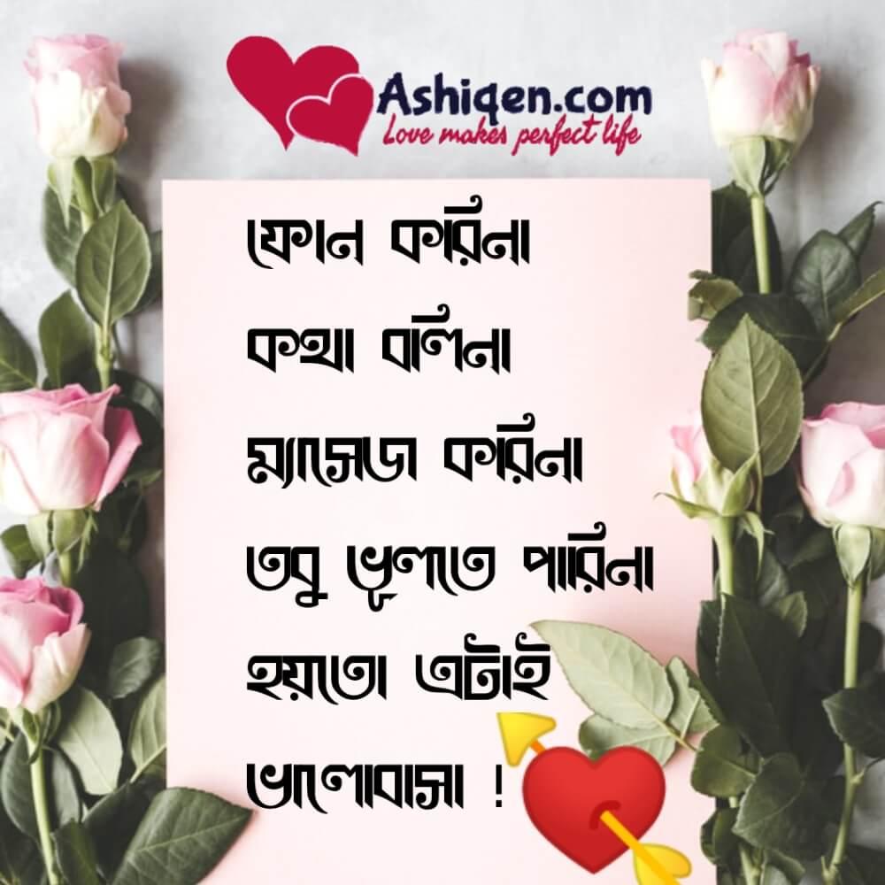 Bangla sad messages